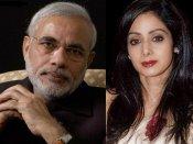 Saddened says PM Modi on Sridevi's death