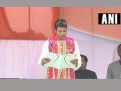 Tripura: Biplab Deb takes oath as BJP's first CM, Modi, Manik Sarkar in attendance