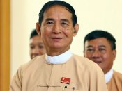 Who is Win Myint, the just elected president of Myanmar?