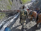Amarnath pilgrims left stranded after landslides disrupt traffic on Jammu-Srinagar highway
