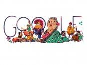 Google doodle pays tribute to Kamaladevi Chattopadhyay