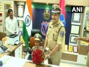 This cancer-affected boy has a dream; Telangana police fulfills his wish by making him the 'top cop'