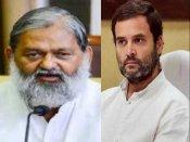 When Haryana minister Anil Vij compared Rahul Gandhi to Nipah virus