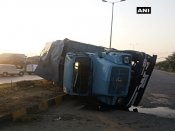 J&K: 19 CRPF jawans injured after vehicle skidded off road in Srinagar