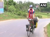 What's your biggest desire? This Spanish cyclist is pedaling across the world to 'live his dream'