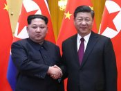 Kim Jong-un meets Xi Jinping for 3rd time; both sides reaffirm friendship