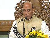 FIRs against security personnel being taken up with J&K govt says Rajnath Singh