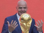 FIFA boss invites Thai cave boys to World Cup final