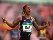 President, PM hail Hima Das for winning historic gold medal in 400m of World U20 Championships