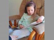 Little girl learns she's going to be elder sister soon. Her reaction is priceless