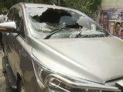 Miscreant hurls country made petrol bomb at TTV Dhinakaran's car