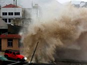Typhoon approaches Japan, flights stand cancelled