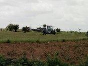 IAF chopper makes emergency landing in Telangana