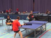 A ping pong shot not even the best of Olympians can hit