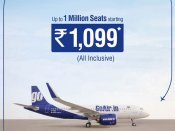 GoAir's new offer: 'Go Gr8 Festival Sale' one million seats for low price