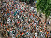 Police stops Tiranga Yatra