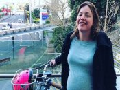 42 weeks pregnant, New Zealand minister cycles to hospital to give birth to her first baby