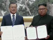 In yet another historic summit, South & North Korean leaders sign agreement