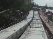 Bridge collapses in West Bengal's South 24 Parganas, one person injured