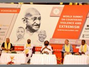 When delegates across the world pledged to fight terror through Gandhian principles