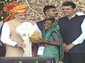 Modi in Shirdi: PM says BJP govt has built 1.25 Crore houses in the last four years