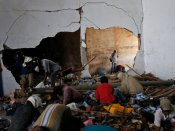 Indonesia earthquake: French rescuers fail to find any survivors trapped under hotel wreckage