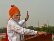 Modi hoists national flag at Red Fort on 75th Anniversary of Azad Hind government