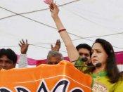 MP: Hema Malini delivers 'Sholay' dialogue at rally; asks people to back 'Basanti' to see BJP win