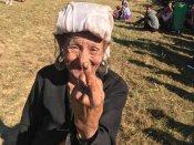 Bru community people turn up in large numbers to vote in Mizoram polls