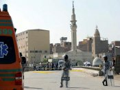 4 killed as bomb strikes tourist bus near Egypt's Giza Pyramids