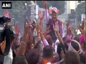 Chhattisgarh: Congress workers begin celebrations as Raman Singh's 15-year rule comes to end