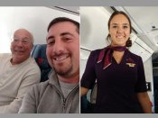 Father buys multiple plane tickets to spend Christmas with flight attendant daughter