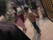 Noida: Two children killed after wall collapses in KM Public School