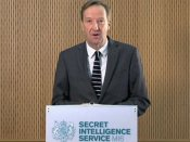 British spy agency MI6 director outlines '4th generation espionage' to tackle hybrid age threat