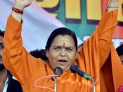 Uma Bharti urges 'devotees of Ram' to support Modi