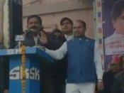 'BJP waalon ko toh dauda dauda kar maarenge': BSP leader Vijay Yadav warns