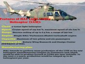 HAL's Light Utility Helicopter that is set to replace Cheetah and Chetak choppers