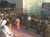 Police had tough time, but efficiently managed impatient devotees at Siddaganga Mutt