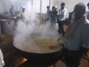 Siddaganga Mutt kitchen works 24 hours to feed devotees