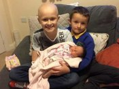 Nine-year-old boy with cancer lived on to meet his newborn sister before dying