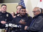 Brother of slain Indian-origin cop supports Trump on border security