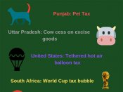 14 most weirdest things people have been taxed for around the world