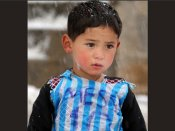 Taliban target this 7-year-old Afghan boy because he met Lionel Messi!