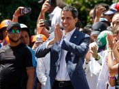 Two 'presidents' of Venezuela clash over aid; Guaido vows to bring in foreign help in country