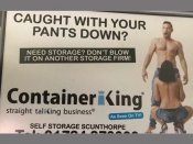 A pervert's advert? 'Oral sex' commercial of UK self-storage firm creates a storm
