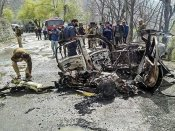 CRPF bus hit in J&K likely an act of terror
