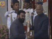 President presents Padma Awards to 56 personalities
