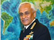 Navy chief Admiral Lanba warns of sea-borne terror attack