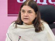 """Maneka Gandhi warned for 'Vote for me or else' remark, EC terms it """"impugned"""""""