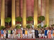 22 of the 56 ministers in new Modi government have pending criminal cases